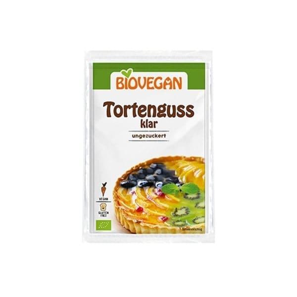 Biovegan TORTENGUSS Klar ungezuckert, BIO, 2x6g