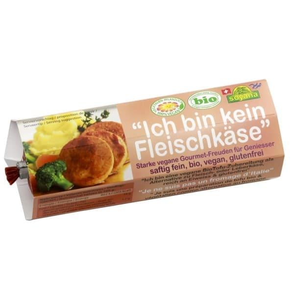 Soyana vegane Alternative zu FLEISCH- oder LEBERKÄSE, BIO, 200g