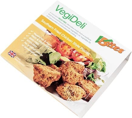 VBites VEGI DELI Meat Free Southern Fried Chicken Style Pieces, 150g