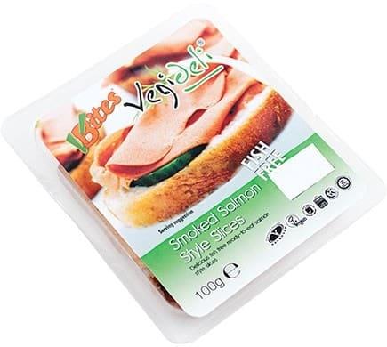 VBites VEGI DELI Smoked Salmon Slices, 100g