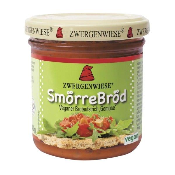 Zwergenwiese Bio SMÖRREBRÖD Brotaufstrich Gemüse, 140g