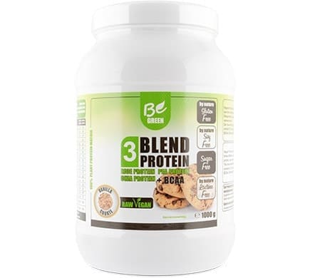 Be Green 3 BLEND PROTEIN Vanille-Cookie, 1000g