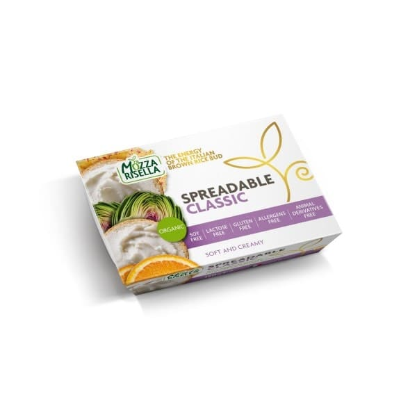 MozzaRisella SPREADABLE Classic, BIO, 150g