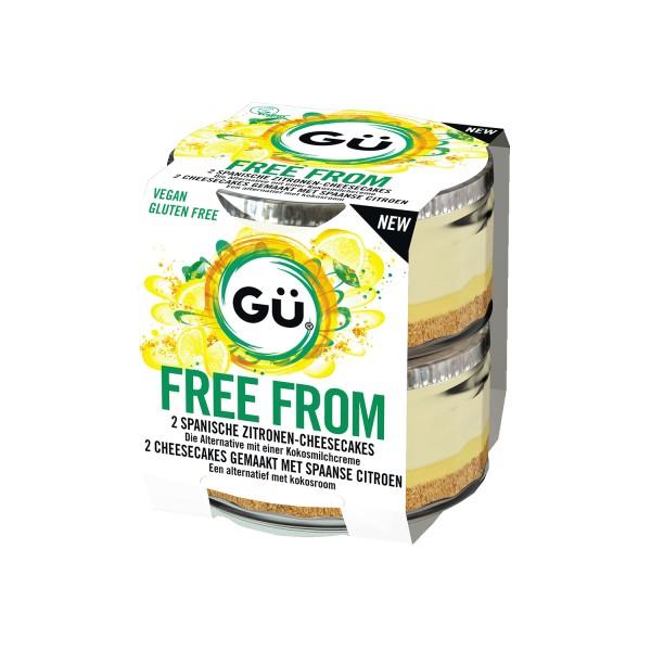 Gü FREE FROM Zitronen Cheesecake, 2x92g