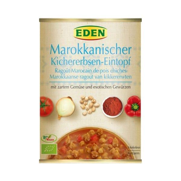 Eden BIO-MAROKKANISCHER KICHERERBSEN EINTOPF, 560g