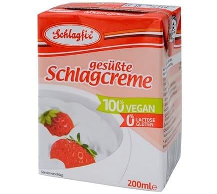 Schlagfix GESÜSSTE SCHLAGCREME im Tetrapack, 200ml