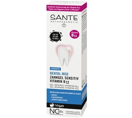 Sante DENTAL MED ZAHNGEL Vitamin B12 Fluoridfrei, 75ml