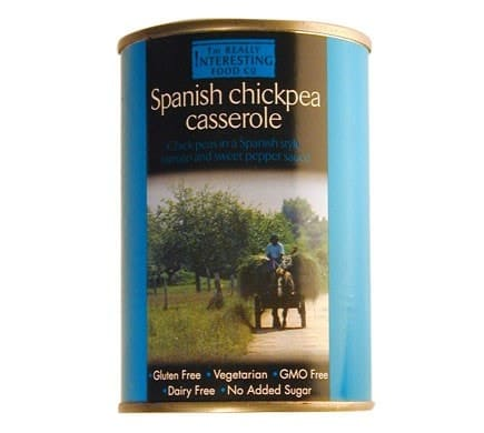 The Really Interesting Food Company SPANISH CHICKPEA CASSEROLE, 400g