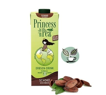 Princess and the Pea SCHOKO Geschmack, 1l