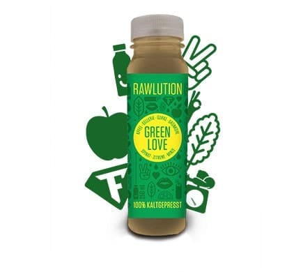 Rawlution GREEN LOVE Superjuice, 250ml
