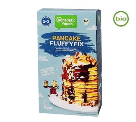 Vantastic foods PANCAKE FLUFFYFIX, BIO, 180g