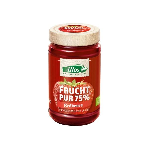 Allos FRUCHT PUR Erdbeere, BIO, 250g