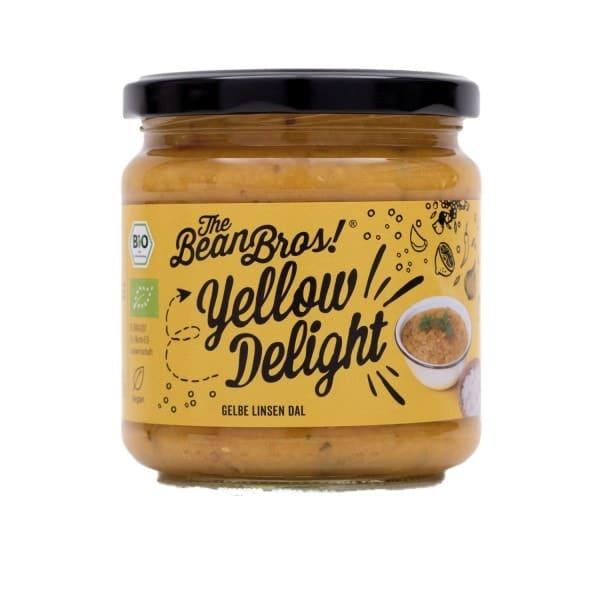 The Bean Bros YELLOW DELIGHT gelbe Linsen Daal, BIO, 380g