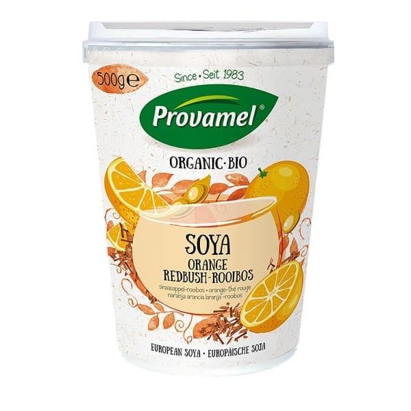 Provamel SOJA ALTERNATIVE ZU JOGHURT Orange-Rooibos, BIO, 500g