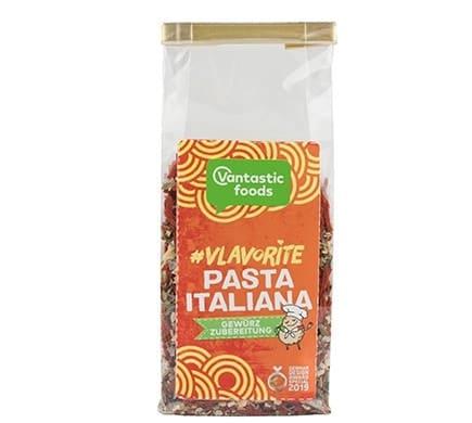 Vantastic foods VLAVORITE Pasta Italiana Gewürz, 50g