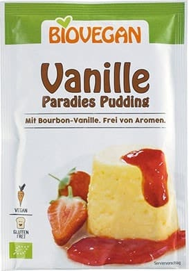 Biovegan PARADIES PUDDING Vanille, 31g