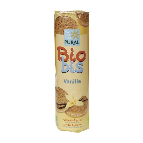 Pural BIOBIS DOPPELKEKSE Vanille, BIO, 300g