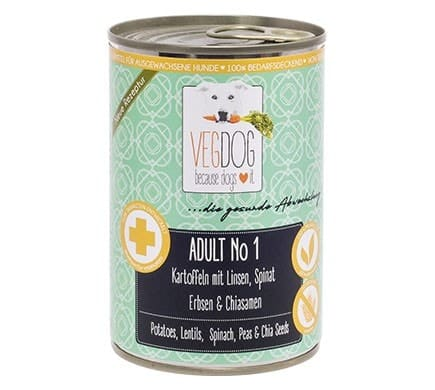 VEGDOG ADULT No1, 400g