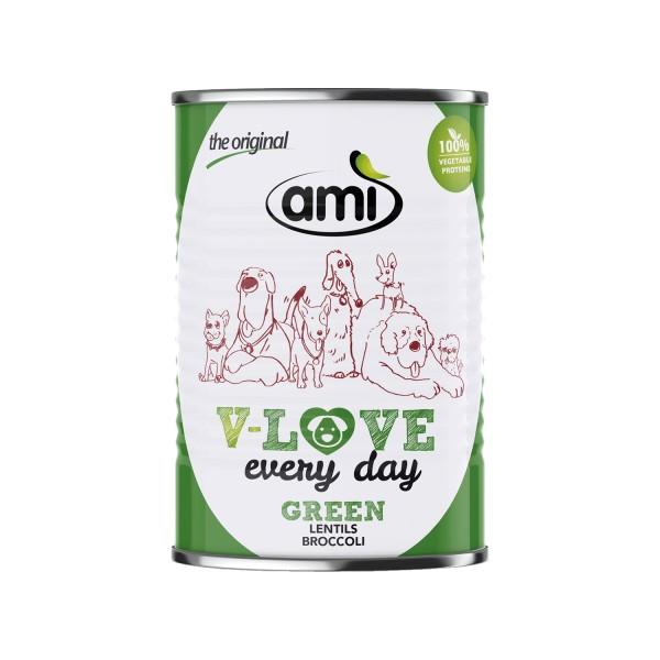 Ami V-LOVE every day GREEN Linsen Brokkoli, 400g