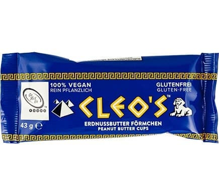 Go Max Go CLEOs Peanut Butter Cups, 43g