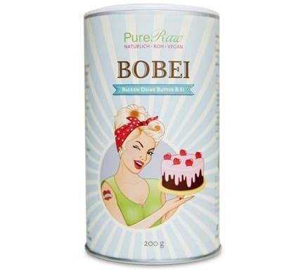 PureRaw BOBEI Backen ohne Butter und Ei, 200g