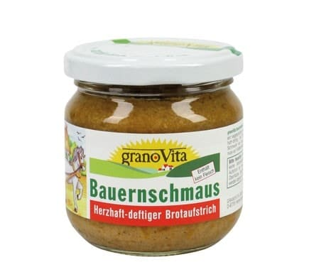 granoVita BAUERNSCHMAUS, 160g