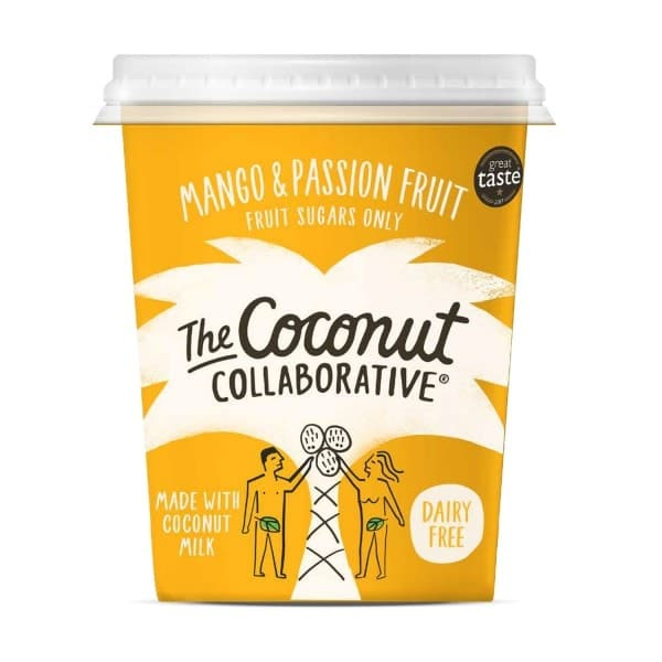 The Coconut Collaborative KOKOSZUBEREITUNG Mango-Passionsfrucht, 350g