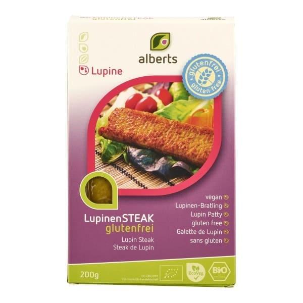 Alberts LUPINEN STEAK, BIO, 200g