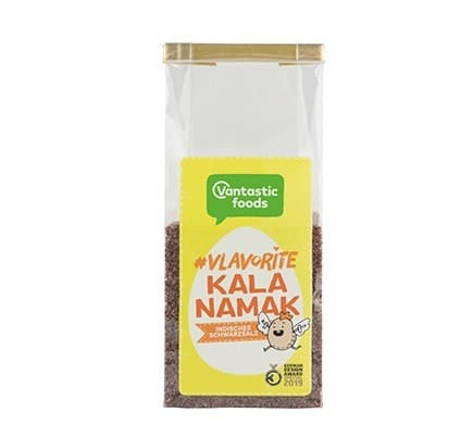 Vantastic foods VLAVORITE Kala Namak Indisches Schwarzsalz, 100g