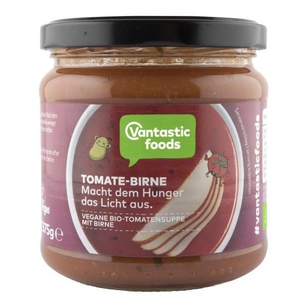 Vantastic foods BIO SUPPE Tomate-Birne, BIO, 350ml - neue Rezeptur
