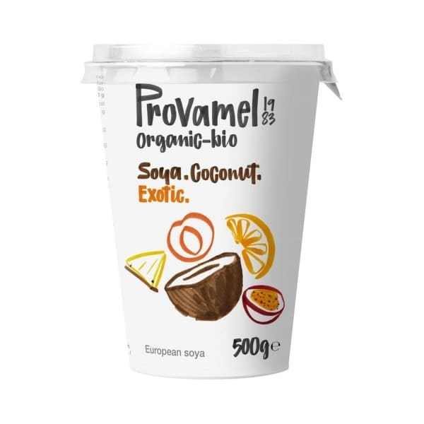 Provamel JOGHURTALTERNATIVE Soja-Kokos Exotic, BIO, 500g