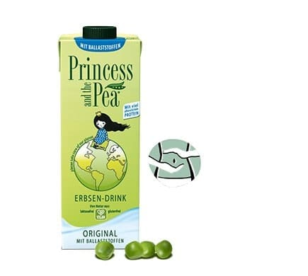 Princess and the Pea ORIGINAL mit Ballaststoffe, 1l