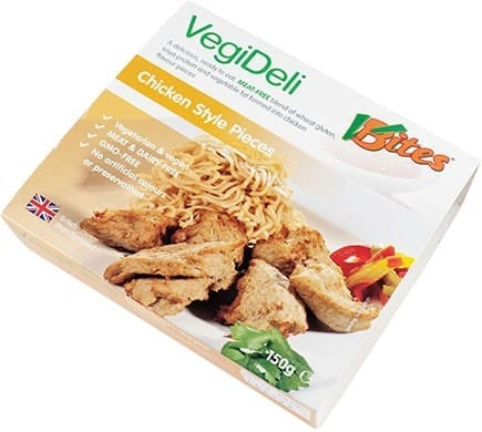VBites VEGI DELI Chicken Style Pieces, 150g