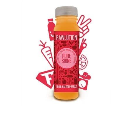 Rawlution PURE SHINE Superjuice, 250ml