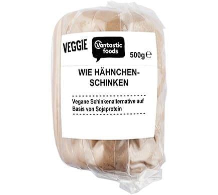 Vantastic foods VEGGIE wie Hähnchenschinken, 500g