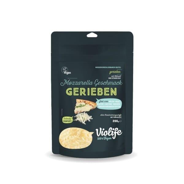 Violife GERIEBEN mit Mozzarella Geschmack, 200g