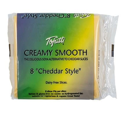 Tofutti CREAMY SMOOTH SLICES Cheddar-Style, 150g