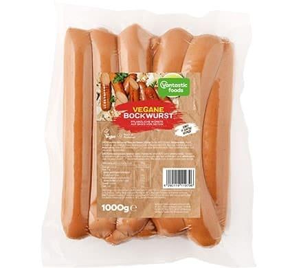 Vantastic foods VEGGIE BOCKWURST Großpack, 1kg