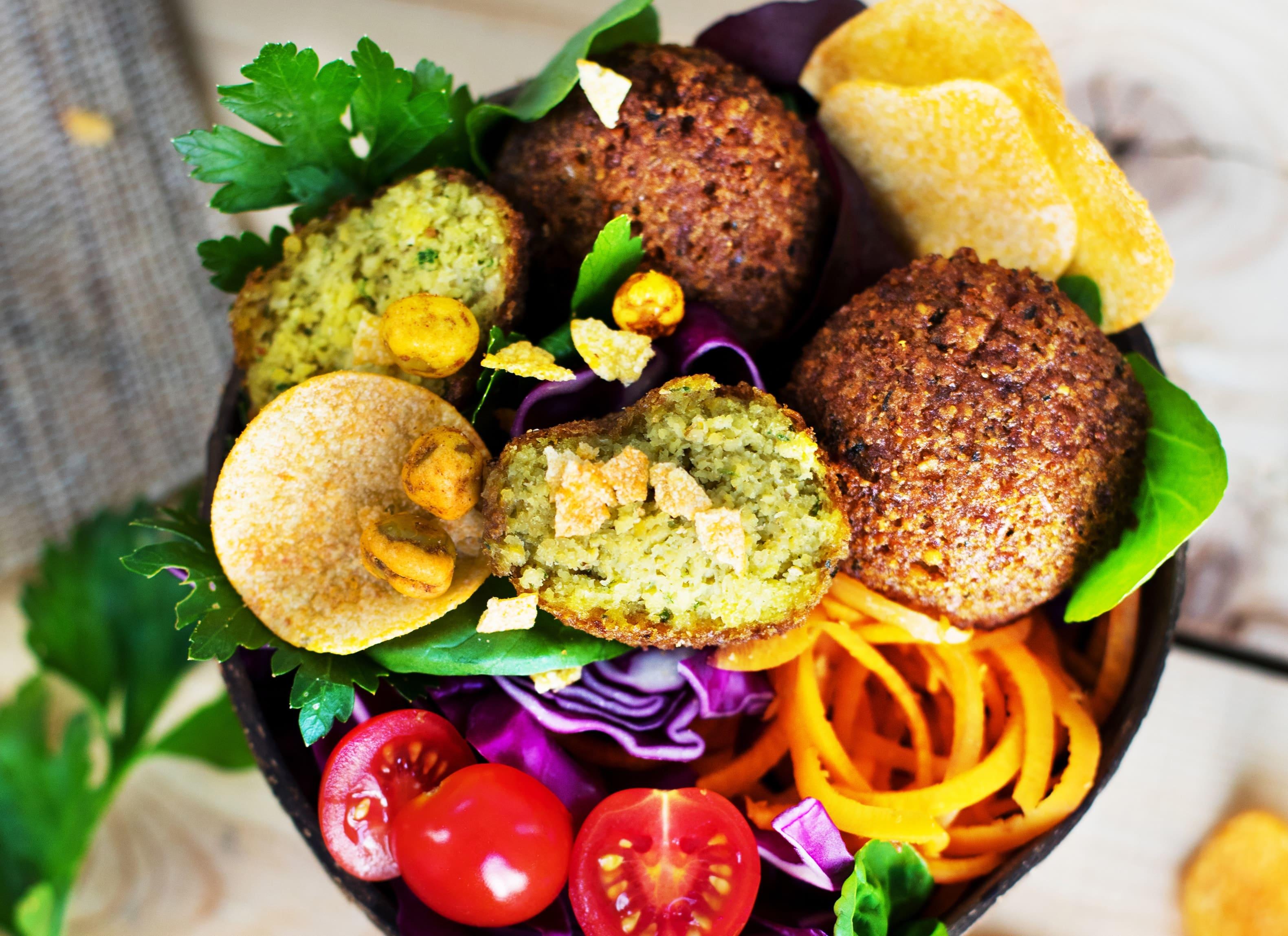 Vantastic Falafel Salat