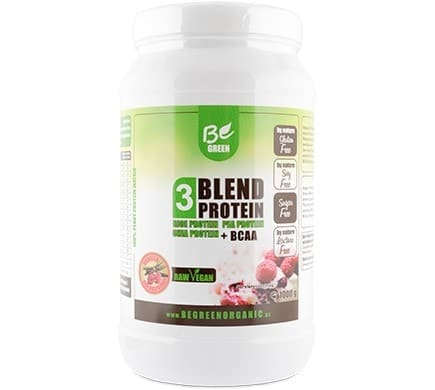 Be Green 3 BLEND PROTEIN Himbeer Vanille, 1000g