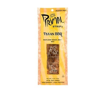 Primal STRIPS JERKY Texas BBQ, 28g