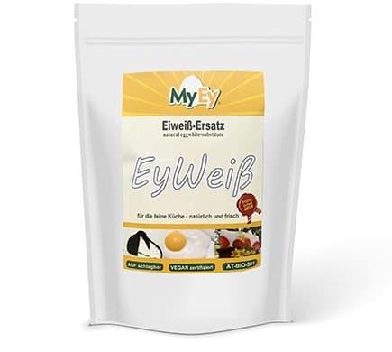 MyEy EYWEISS veganer Ersatz für Hühnerei-Eiweiß, 1000g