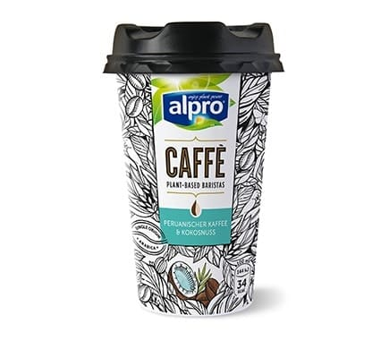 Alpro CAFFÈ Peruanischer Kaffee & Kokosnuss, 235ml