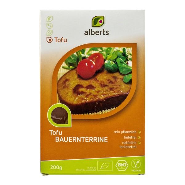 Alberts TOFU-BAUERNTERRINE, BIO, 200g
