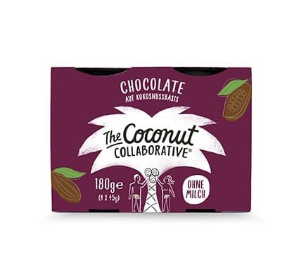 The Coconut Collaborative KOKOSDESSERT Schokolade, 4x45g