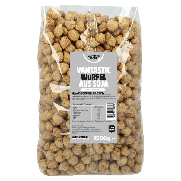 Vantastic foods SOJA WÜRFEL Familienpackung, 1,5kg