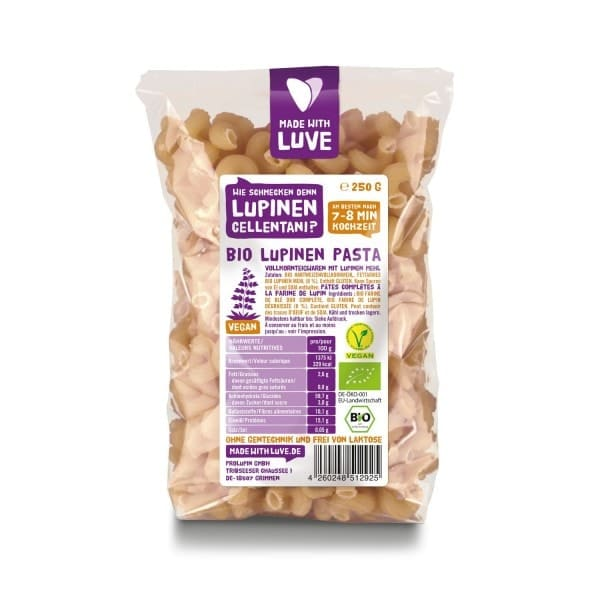 Made with Luve LUPINEN CELLENTANI, BIO, 250g