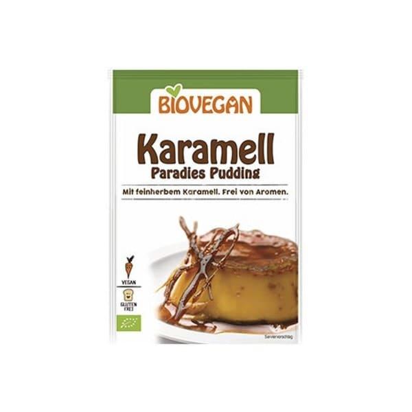Biovegan Bio PARADIES PUDDING Karamell, 43g