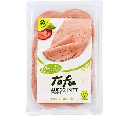 Vantastic Foods TOFU Aufschnitt Lyoner Art, 80g