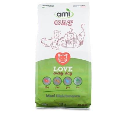 AMI CAT MINI Katzentrockennahrung, 1,5kg